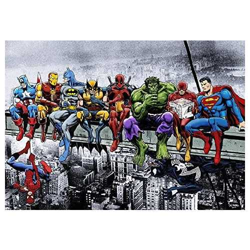 MARVEL DC COMIC SUPERHEROES GIRDER