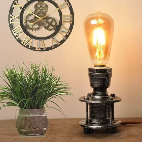 Mid Century Industrial Table Lamps