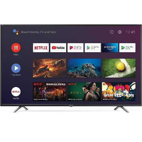Sharp 4T-C65BL3KF2AB 65 Inch 4K UHD HDR Android Smart TV